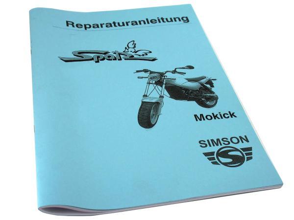 Book - Repair instruction Simson Spatz MSA50 (1999)