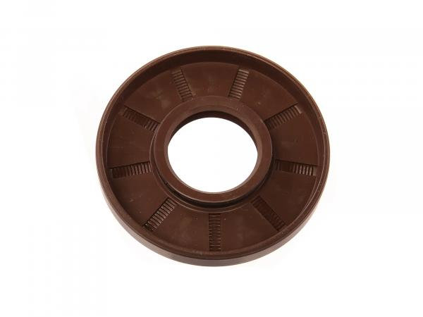 Oil seal 25x62x08, brown, dust lip