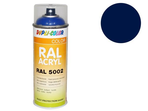 Dupli-Color Acryl-Spray RAL 5003 saphirblau, glänzend - 400 ml