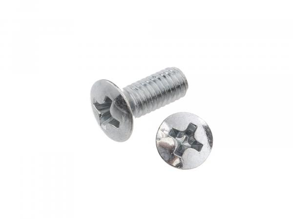 Oval countersunk head screw, cross recess M4x10 - DIN966